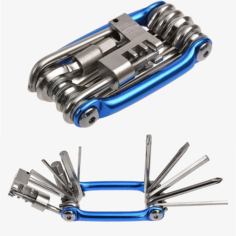 11 in 1 Bicycle Tools Sets Bike Cycling Hex Spoke Wrench Screwdriver Repair Tool