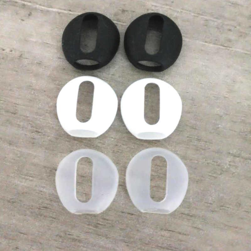 2 개/짝 패드 Airpods 무선 블루투스 iphone 7 7plus 이어폰 실리콘 귀마개 이어폰 케이스 earpads