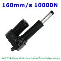 12V 24V DC actuator linear 900mm 36inch adjustable stroke 10000N 1000KG 2200LBS load 160mm/sec speed