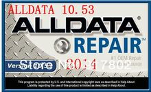 Shipping Free Support Windows 7/8 /10/XP Alldata 2014 +Mitchell 2014 Car Repair software fits all kinds of car from 1984 to 2014(China (Mainland))