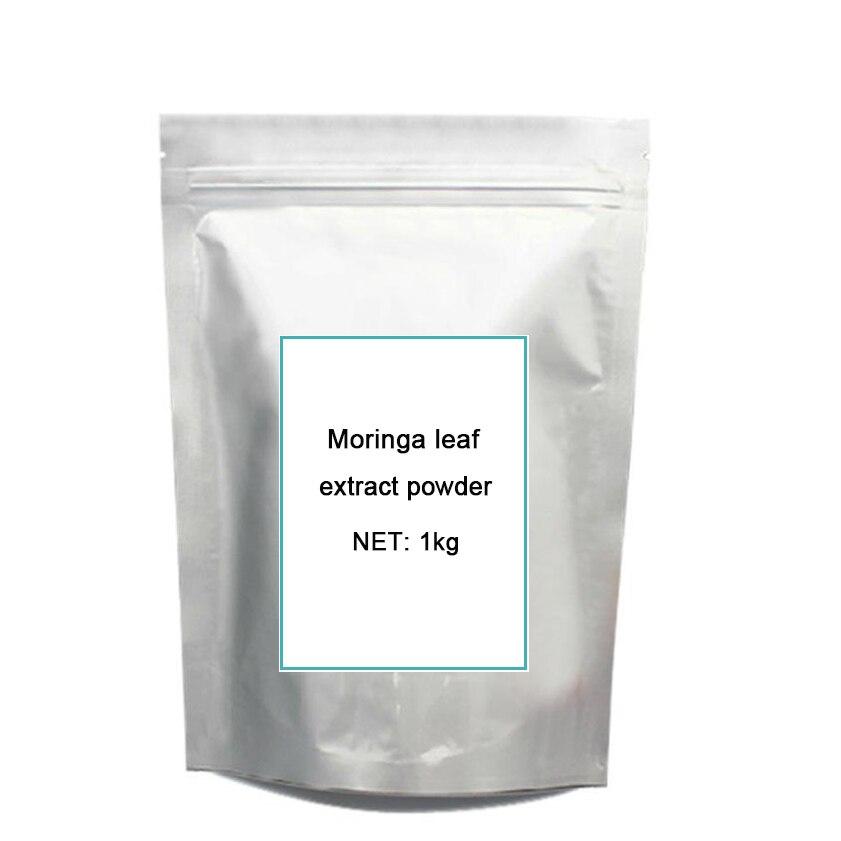 1kg Natural Organic Moringa leaf pow-der green pow-der 80 mesh Free shipping 1kg aaaa healthy organic and ecology moringa powder herbal tea for lower blood pressure
