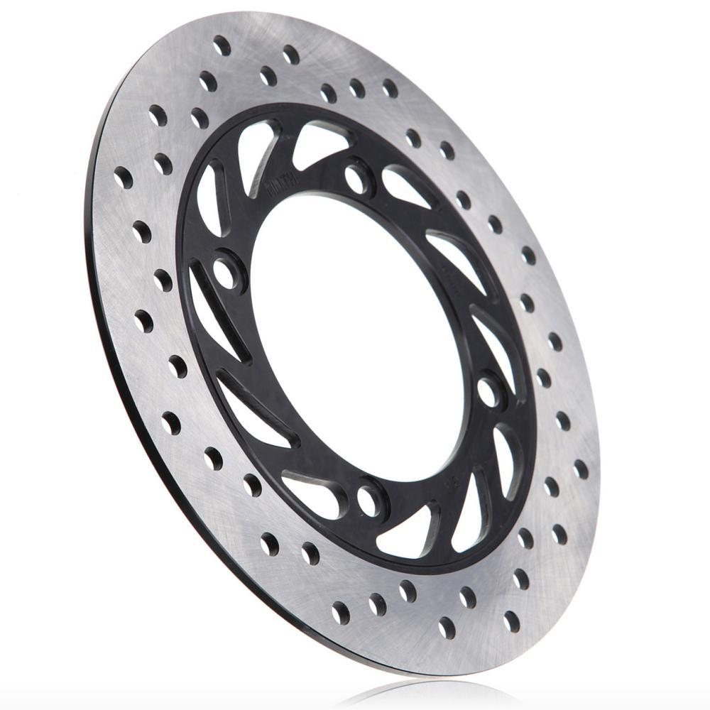 Steel Rear Brake Disc Rotor For Honda CB250 CB400 CB-1 CB500 CB750 CB900 Hornet 919 CBR250 PS250 NSS250 FES250 XL650 XRV650 no error car led license plate light number plate lamp bulb for vw touran passat b6 b5 5 t5 jetta caddy golf plus skoda superb