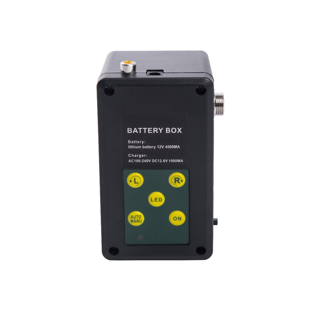 Battery for SYANSPAN Waterproof Fish Finder Cell Box for Video Camera Underwater Ice Fishing 36 LEDs