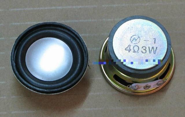 2 unidades/pacote de 1.5 polegada de 4 Ohm 3 W potes redondos brinquedo altofalante do chifre Louderspeaker multimídia alto-falantes Full-range com um bom Áudio