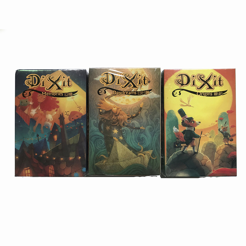 Dixit Board Game Family party Indoor Games Table Game 84pcs/set cards Game Funny Cards Educational Children Gift