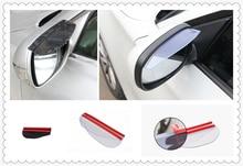 Car rearview mirror rain eyebrow / rain visor for BMW 335is Scooter Gran 760Li 320d 135i carprie car rearview mirror rain eyebrow mirror rain eyebrow tj