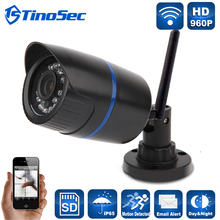 960 P Домашней Безопасности Мини Беспроводной ABS Пластмассы Ip-камеры Wifi Открытый пуля ИК P2P С Ик-Фильтр Камеры с TF Слот Для Карты