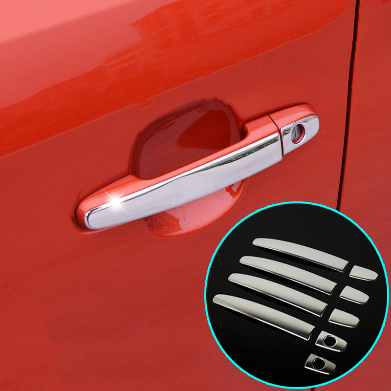 Fit For Toyota Camry Corolla Highlander Matrix Prius Rav4 Chrome Stainless Door Handle Cover