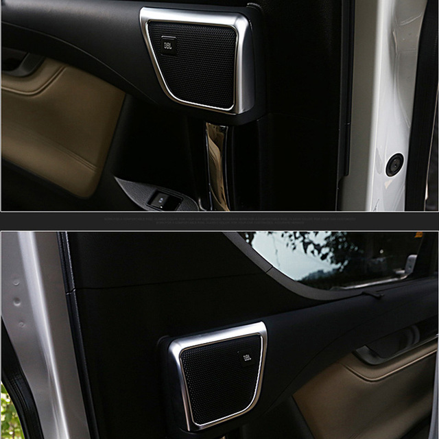 All New Vellfire 2015 Interior Meja Lipat Kijang Innova For Toyota Alphard 2016 2017 Abs Matte Car Styling A Pillar Stereo Audio Speaker Cover Trim Round Garish Bezel