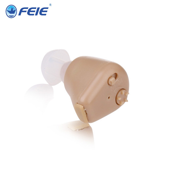Rechargeable Hearing Aid Adjustable Tone In Ear Sound Voice Amplifier Amplification S-216 Free Shipping feie mini rechargeable hearing aid usb charger computer ajustable tone ear listen device s 109s drop shipping