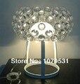 Modern 350mm (13.8 polegadas) Tamanho Bola Caboche Desk/Table Lamp Com E27 Luzes, Iluminação Residencial