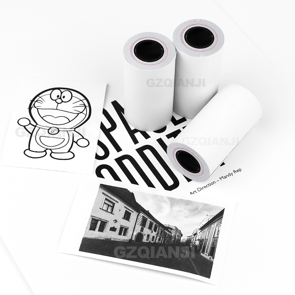 57 58*30 Mm Thermal Paper For POS Receipt Printer Or Peripage A6 A8 Paperang P1 P2 Photo Pocket Printer