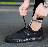 2017 New Men S Canvas Shoes Sports And Leisure Men S Shoes Fashion Wild Flat Shoes