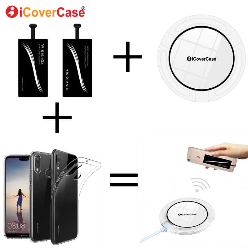 new products 70ca4 7ae6b Qi Wireless Charger For Huawei Mate 9 Pro P 9 10 20 P9 P 20 Lite Pro Plus  Nova 2i Case Wireless Charger Receiver Soft TPU Cover