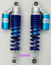 ממיליליטר 400mm 410mm 420mm 430mm 435mm 440mm אופנוע הלם השעיה בולם עבור הונדה HUSQVARNA YMAHA סוזוקי קוואסאקי כחול