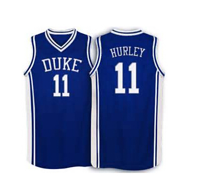 8f7e428e1 11 Bobby Hurley NCAA Duke Blue Devils Basketball Jersey Throwback Mens  White Blue New Material 100% stitched S-3XL Free shipping