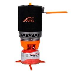 1600 мл портативные газовые горелки большой емкости газовая плита печи пожаров тепла системы приготовления пищи Туристическое оборудование