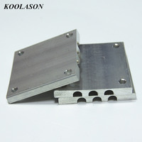 100*50 /50*50*6MM Computer CPU Main box Chassis Buckle Card buckle Heat pipe heat sink radiator Buckle Aluminum Block 6mm hole