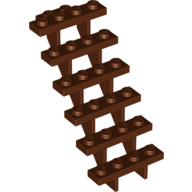 Elements Brick Parts 30134 Stairs 7x4x6 Straight Open Classic Piece Building Block Toy Accessory Bricklink Y758