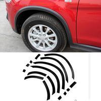 Car Styling Auto Wheel Arch Trim Lane Legend Case For Mitsubishi ASX 2011 2017 16pcs Car