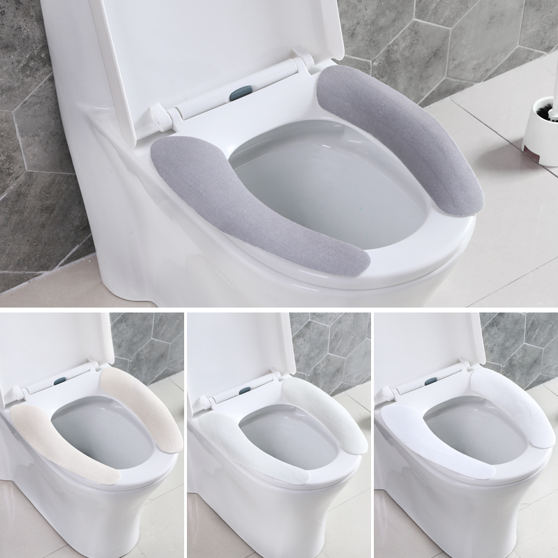 Super Toilet Seat Cushion Adhesive Toilet Paste Washed Reusable Toilet Seat Cover Waterproof Toilet Seat Pad Creativecarmelina Interior Chair Design Creativecarmelinacom