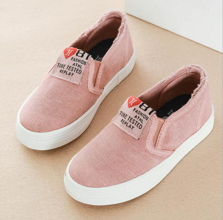 Kids Shoes for Girls Outdoor Comfortable Casual Shoes Boys Canvas Children Shoes