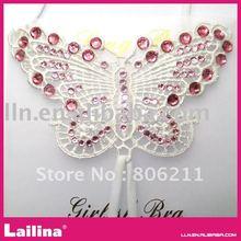 Fashion rhinestone and crystal bra straps