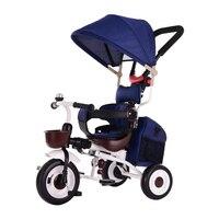 Abdo 2019 Новая Складная легкая трехколесная тележка 1-3-6 лет детский велосипед легко носить с собой детскую коляску