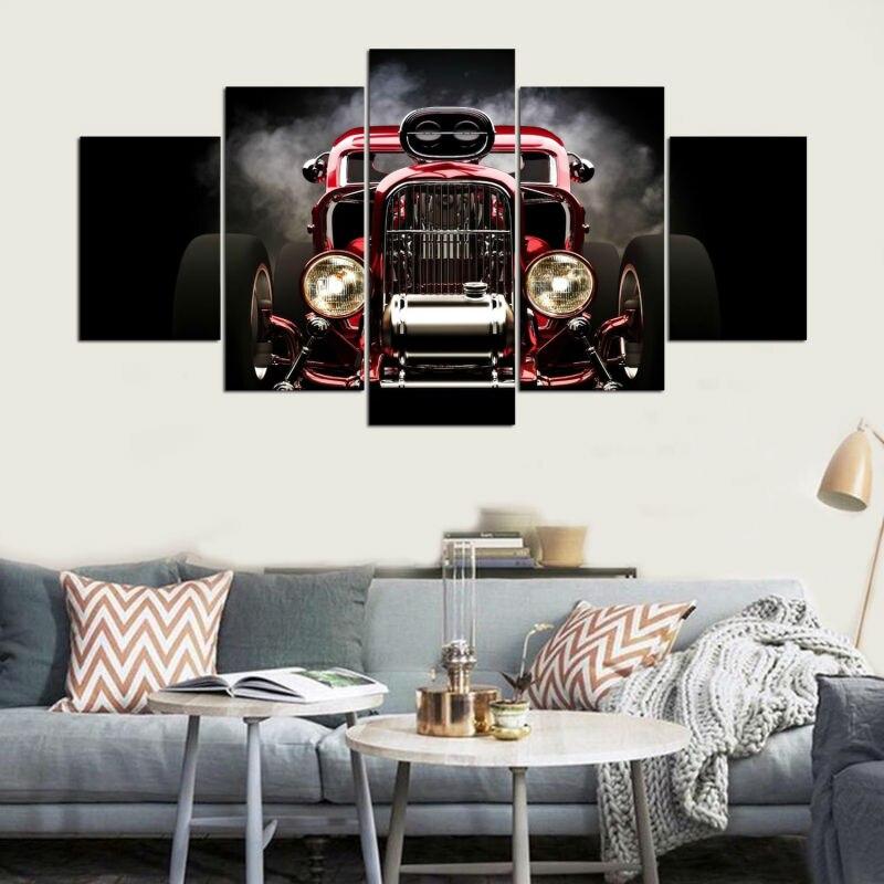 Printed, Wheels, Bedroom, Living, Front, Artryst