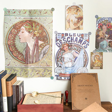 Vintage Art Fashion Deco Paper Pack 10pcs/lot