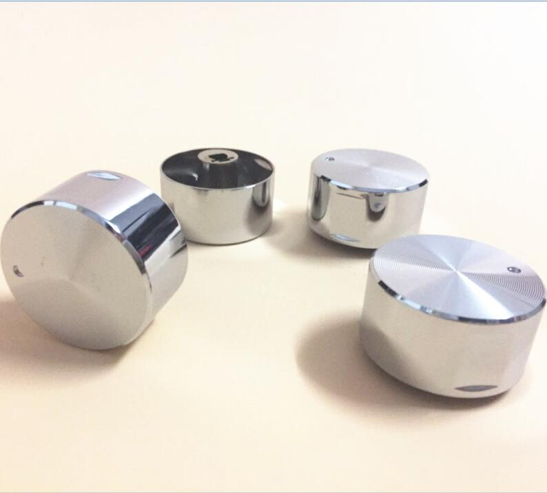 4pcs/lot Rotary Switch Gas Stove Parts Stove Gas Stove Knob Stainless Steel Round Knob Knob For Gas Stove High Quality