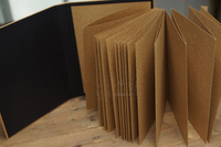 Organ gatefold album A4 manual DIY kraft paper paste-type album christmas creative wedding decoration album photo scrapbooking