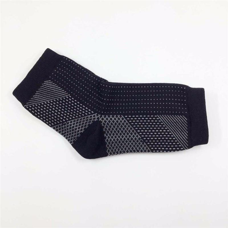HTB1VlRfXNSYBuNjSsphq6zGvVXax - 1 Pair Ankle Heels Support Socks Women Men Compression Socks
