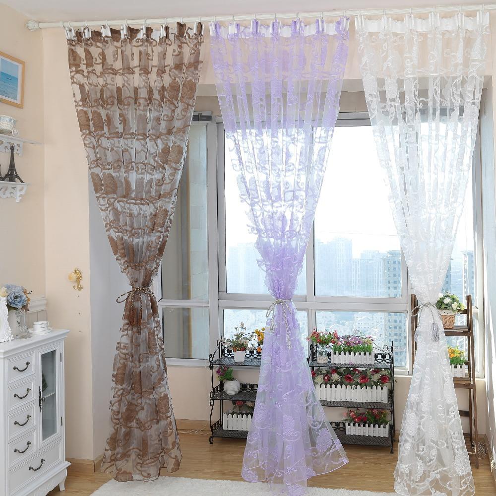 online get cheap organza cortina de rayas -aliexpress