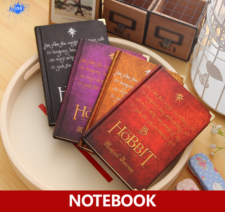 2015 New Vintage Notebook for The Hobbit , vintage daily memos / notepads working studying as appointment book