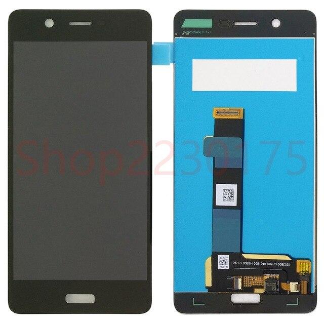 """עבור Nokia 5 TA-1024 TA-1027 TA-1044 TA-1053 LCD תצוגת מסך מגע Digitizer עצרת 5.2 """"1280x720"""