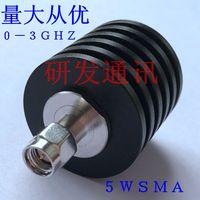 SMA Coaxial Carga, 5 W Carga DC-3G Frequência de Rádio, 50 Ohm