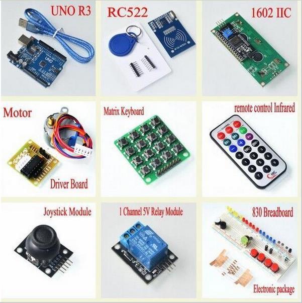 Новейший RFID стартовый набор для Arduino UNO R3 обновленная версия Обучающий набор с розничной коробкой
