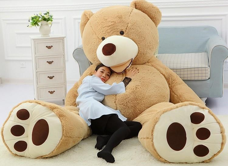 2016 New Arrival Oversized TEDDY BEAR STUFFED LIGHT BROWN
