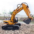 HUINA 580 Hobby Rc Excavator Kids Car Toys for Boys Car Styling Big Off Road Construction Remote Control