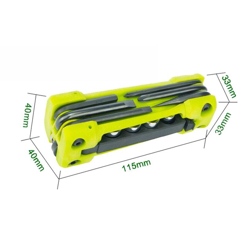 Nuevas herramientas plegables de metal multifunción Jakemy 17 en 1 - Juegos de herramientas - foto 3