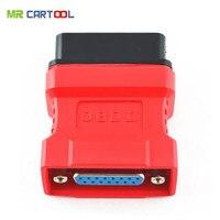 I più votati Promozionale Poco Costoso di Trasporto libero Autel Maxidas ds708 OBD2 OBD II connettore diagnostico Maxidas ds708 pin adaptor