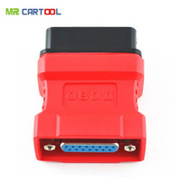 Top rated Promotional Free Shipping Cheap Autel Maxidas ds708 OBD2 OBD II connector Maxidas ds708 16pin adaptor
