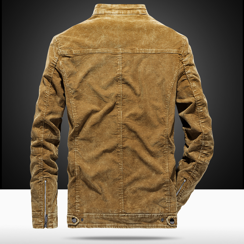 Vintage Jackets Men Slim Fit Casual Jeans Coat Jacket 2019 Spring Autumn Fashion Retro Clothes for Men Gray Khaki WN41