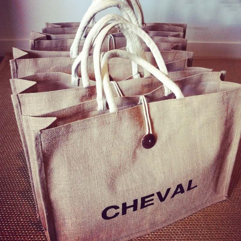 T014,Free Shipping ,100pcs/lot, Wholesale Jute Bags