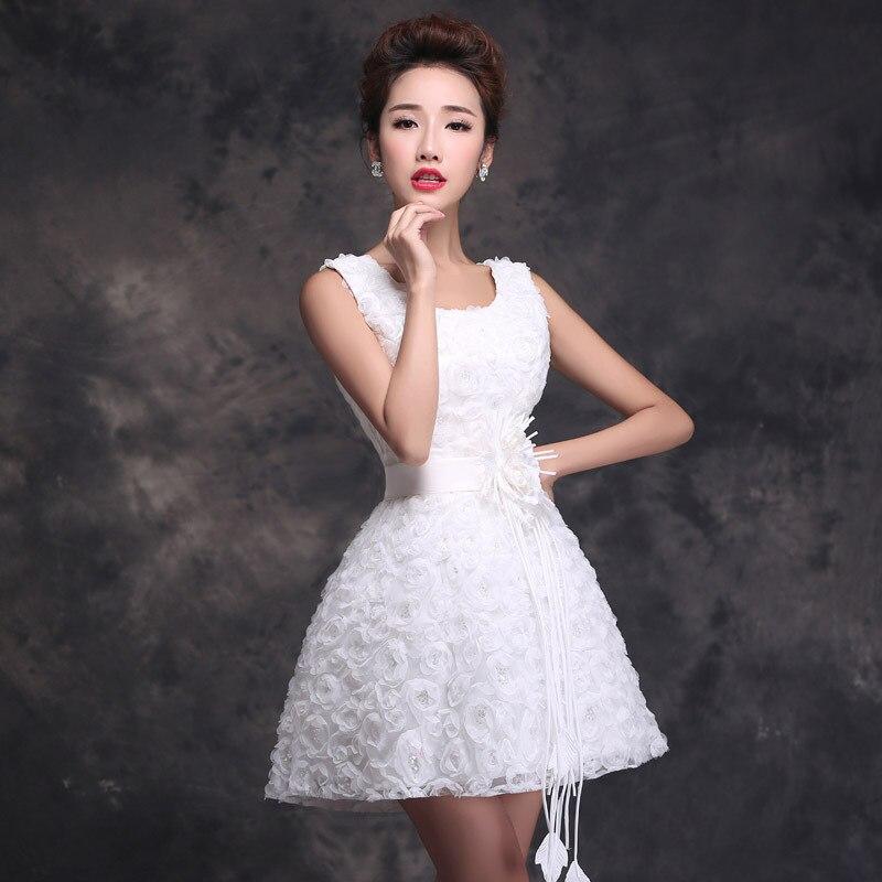 vestidos blancos cortos formales