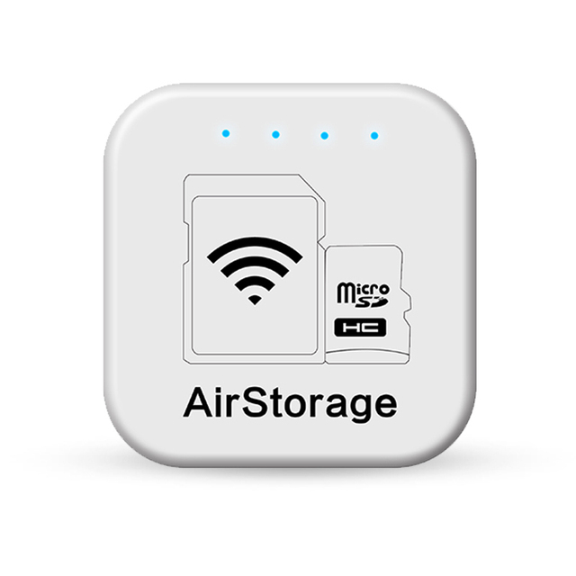 Модный Беспроводной WI-FI Card Reader Personal Cloud Storage Hub and Photo Backup для iPhone и Android для Canon/Casio камера