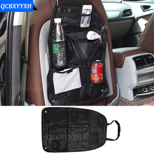 Auto Car Back Seat Boot Organizer Trash Net Holder Multi-Pocket Travel Storage Bag Hanger For Auto Capacity Storage Pouch portable car vehicle storage organizer holder nylon net pouch bag black