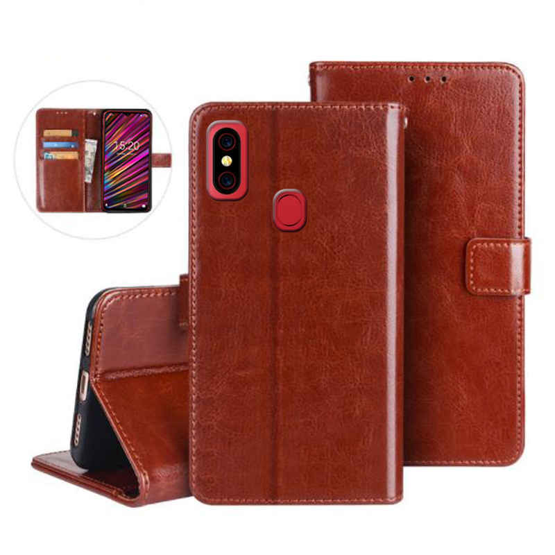 UMIDIGI F1 A3 S3 Z2 Pro Case Protection Stand Style PU Leather Flip Case for UMIDIGI One Max Pro Cover Funda Coque