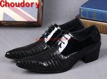 Choudory Marca De Luxo Italiana Oxford Sapatos Para Homem Mens Borgonha Vestido Formal Vestido de Casamento Do Dedo Do Pé Apontado sapatos de Salto Alto Sapatos Size12